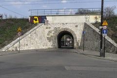 Tunnel pour des voitures Photographie stock libre de droits