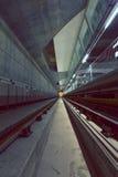 Tunnel profond de métro Photos libres de droits