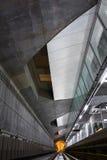 Tunnel profondo della metropolitana Fotografia Stock