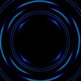 Tunnel psychédélique foncé de l'espace Élément de conception Illustration abstraite Forme ronde Imagination de la science-fiction illustration de vecteur
