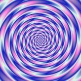 Tunnel psychopathe abstrait coloré Images libres de droits