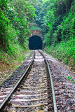 Tunnel and railway transport Stock Photography