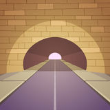 Tunnel Road Royalty Free Stock Photography