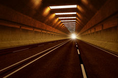Tunnel road. Stock Image