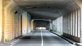 Tunnel Road Royalty Free Stock Images