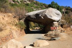 Tunnel Rock Stock Image