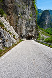 Tunnel in the Rock Royalty Free Stock Photography