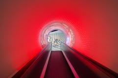 Tunnel rosso Immagine Stock Libera da Diritti