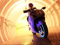 Tunnel. Royalty Free Stock Photography