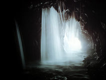 Tunnel sommerso -- Taroko, Taiwan immagini stock