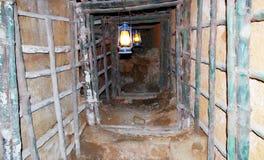 Tunnel sotterraneo Fotografia Stock