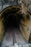 Tunnel sotterraneo Fotografia Stock Libera da Diritti