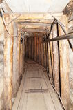 Tunnel souterrain à Sarajevo Images stock