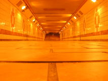 Tunnel souterrain Photo stock