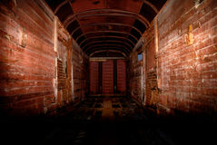 Tunnel in stijl van technogenic ongeval Stock Foto
