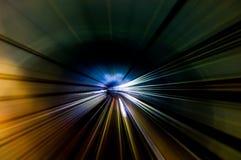 Tunnel-Streifen Stockfotos