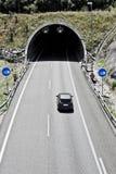 Tunnel sulla strada principale Fotografie Stock