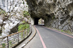 Tunnel, Taiwan Royalty Free Stock Image