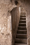 Tunnel in the Temple  in Pompeii Royalty Free Stock Photography