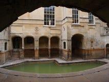 Tunnel till Roman Baths Royaltyfria Foton