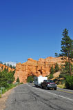 Tunnel to Bryce Canyon National Park Stock Photo