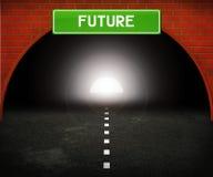 Tunnel to Future Stock Photos