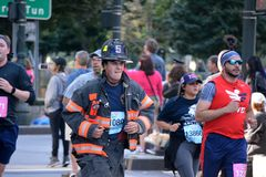 Free Tunnel To Towers Memorial Run. Stock Images - 127538254