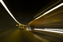 Tunnel Traffic Royalty Free Stock Photos