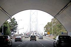 Tunnel Traffic San Francisco. Tunnel traffic in San Francisco, California stock photos