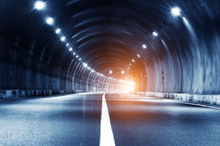 Tunnel trajectory Royalty Free Stock Photos