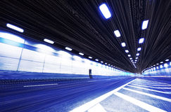 Tunnel trajectory Stock Photography