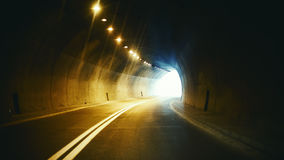 In the Tunnel Royalty Free Stock Photo