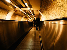Tunnel. The tunnels of the Underground Stock Image