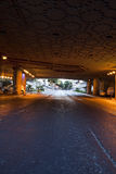 Street Tunnel at Dawn Royalty Free Stock Images