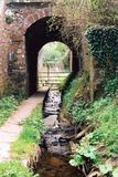 Tunnel Under Railway Stock Photos