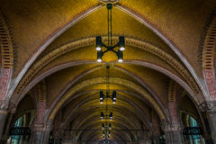 Tunnel under the Rijksmuseum Royalty Free Stock Image