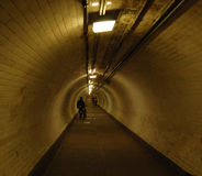 Tunnel under Thames Stock Photo
