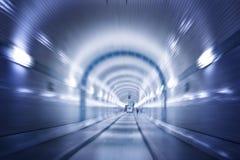 Tunnel unter Elbe, Hamburg Stockbilder