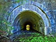 1914 Tunnel in Upstate New York. Tunnel creek upstate ny water river marcellus syracuse CNY water Stock Photography