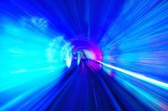 Tunnel van licht royalty-vrije stock fotografie