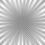 Tunnel van lichte, witte kleur vector illustratie