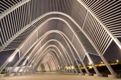 Tunnel van lichten Royalty-vrije Stock Foto's