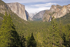 Tunnel view. Yosemite National Park, California, United States Royalty Free Stock Photography
