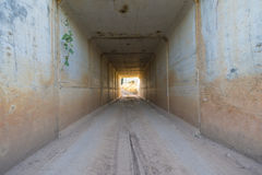 Tunnel. Royalty Free Stock Image