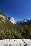 Tunnel View, Yosemite National Park Stock Image