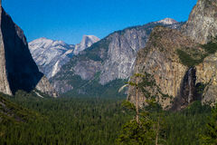 Tunnel View Stock Photography