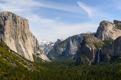 Tunnel view Stock Images