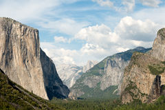Tunnel View, Yosemite National Park, California Royalty Free Stock Photo