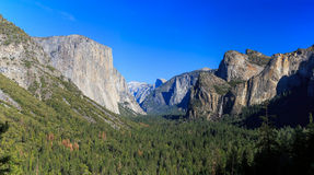 Tunnel View, Yosemite National Park, California, USA Stock Photo