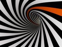Tunnel von Linien, 3D Lizenzfreie Stockfotografie